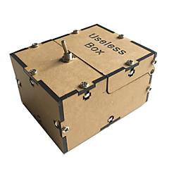 Odstresowywujący Bezużyteczne pudełko Zabawki Zostaw mnie Samą Maszyną Zabawki Kwadrat Sztuk Dla obu płci Urodziny Prezent
