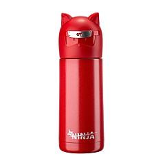 Υπαίθριο Wear to work Να πάω Ποτήρια, 300 Πυριτικής Πηκτής Ανοξείδωτο ατσάλι Τσάι Δερματί Μπουκάλια Νερού