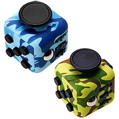 camuflaj fidget cub deget mână top magic stoarce puzzle cub lucru clasă acasă edc adăuga adhd anti anxietate stres reliever 1pc