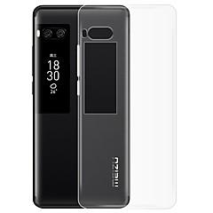 お買い得  その他のケース-ケース 用途 Meizu クリア バックカバー 純色 ソフト TPU のために Meizu Pro 7