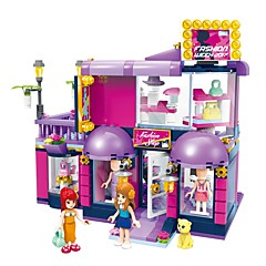 tanie -ENLIGHTEN Klocki Zabawki Domy DIY Klasyczny New Design Dla dorosłych Dla dziewczynek 458 Sztuk