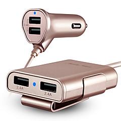ładowarka samochodowa hsc 600 szybka opłata 4 porty USB 4,8a ładowarka dc 12v-24v