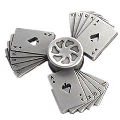 اليد سبينر ألعاب بدعة رقم سبائك الزنك قطع في سن المراهقة هدية