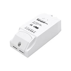sonoff® 듀얼 채널 diy wifi 무선 응용 프로그램 원격 제어 스위치 소켓 ac 90-250v 스마트 홈용