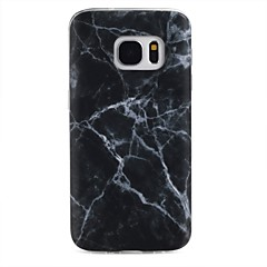 abordables Galaxy S3 Mini Carcasas / Fundas-Funda Para Samsung Galaxy Diseños Funda Trasera Mármol Suave TPU para S8 Plus S8 S7 edge S7 S6 edge plus S6 edge S6 S6 Active S5 Mini S5