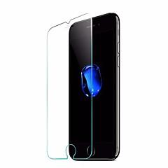 Недорогие Защитные пленки для iPhone 7-Защитная плёнка для экрана для iPhone 7 Закаленное стекло 1 ед. Защитная пленка для экрана HD / 2.5D закругленные углы / Ультратонкий