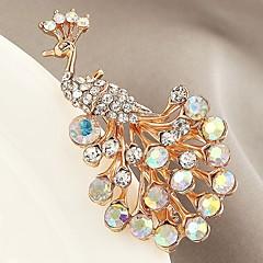 Heren Dames Broches imitatie Diamond Aanbiddelijk Klassiek Zirkonia Legering Dierenvorm Sieraden Voor AvondFeest