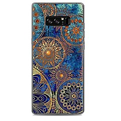 billige Galaxy Note 3 Etuier-Etui Til Mønster Bagcover Mandala-mønster Blødt TPU for Note 8 Note 5 Edge Note 5 Note 4 Note 3 Lite Note 3 Note 2 Note Edge Note Note