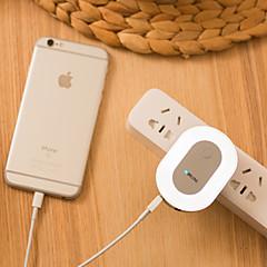 Με ροοστάτη Εύκολη μεταφορά Φώς Νυκτός Φορτιστές Φώτα USB-1W-Φορτιστής AC