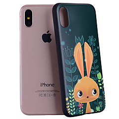 Назначение iPhone X iPhone 8 Чехлы панели С узором Задняя крышка Кейс для Животное Мультипликация Мягкий Силикон для Apple iPhone X