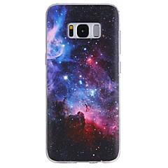 billige Galaxy S4 Mini Etuier-Etui Til Mønster Bagcover Himmel Blødt TPU for S8 S8 Plus S7 edge S7 S6 edge plus S6 edge S6 S6 Active S5 Mini S5 Active S5 S4 Mini S4