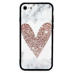 для крышки случая ударопрочная выбитая задняя крышка случая сердечный трудный ПК для яблока iphone 7 плюс iphone 7 iphone 6s плюс iphone 6