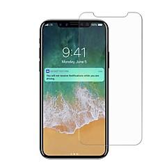 Недорогие Защитные пленки для iPhone X-Защитная плёнка для экрана для iPhone X Закаленное стекло 1 ед. Защитная пленка для экрана Против отпечатков пальцев Защита от царапин