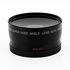 Convertisseur 58mm grand angle 0.45x w / macro close-up attachement pour canon