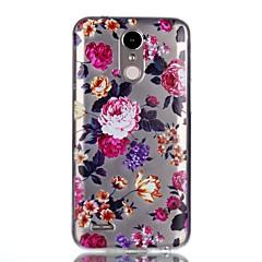 케이스 제품 LG 패턴 뒷면 커버 꽃장식 소프트 TPU 용 LG K10 (2017) LG K8 (2017)