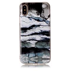 для крышки случая imd картины задней крышки случая мрамора мягкой tpu для яблока iphone x iphone 8 плюс iphone 8 iphone 7 плюс iphone 7