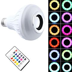 preiswerte LED-Birnen-1pc 7 W 500 lm E26 / E27 Smart LED Glühlampen T 26 LED-Perlen SMD 5050 Bluetooth / Abblendbar / Ferngesteuert 85-265 V / RoHs / FCC