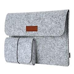 dodocool 12 pulgadas portátil fieltro funda cubierta del sobre ultrabook llevando maletín portátil bolso con bolsa de ratón para 12