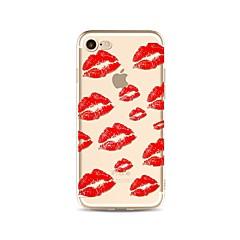 для случая крышка прозрачная картина задняя крышка случая сексуальная леди мягкая tpu для яблока iphone x iphone 8 плюс iphone 8 iphone 7
