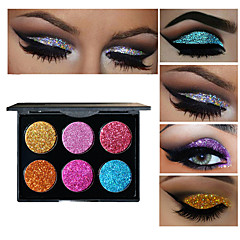 6 Oogschaduwpalet Oogschaduw palet Smokey make-up Dagelijkse make-up Halloween make-up Feestelijke make-up Kattenoog make-up