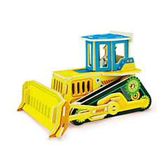 3D - Puzzle Bulldozer Spielzeuge Gabelstapler Fahrzeuge 1 Stücke