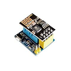 esp8266 esp-01 esp-01s dht11 θερμοκρασία υγρασίας wifi μονάδα κόμβου περιέχει ασύρματη μονάδα