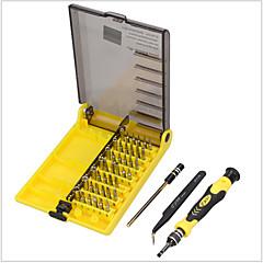 abordables Outils & Testeurs de Réseau-45 dans 1 jeu de tournevis ouvrant le kit d'outils de réparation innver la douille hexagonale avec la pince d'extension d'extension
