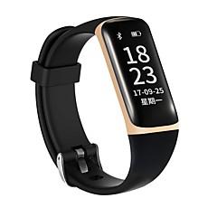0.96 inch oled scherm mannen vrouw slimme armband waterdicht lange standby calorieën verbrand pedometers hartslag monitor voor ios android