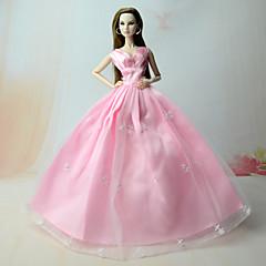 ドレス ドレス ために バービー人形 ピンク ドレス ために 女の子の 人形玩具