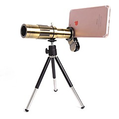 orsda® 20x ultra beast vergrootglas zoom handmatige focus telephoto telescoop telefoon camera lens kit met high-end statief voor iphone