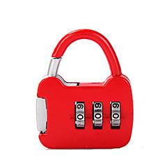 6422 aleación de zinc candado padlock 3 dígitos contraseña gimnasio dormitorio gabinete candado mini cerradura del tanque bloqueo dail