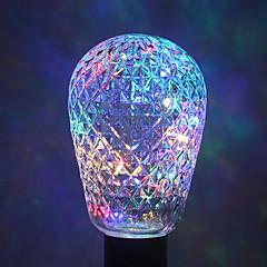 1pc ywxlight® e27 40led 8,0 4 colori ha condotto le sfere della lampadina della stringa della luce per la festa di festa di natale ac 85-265v