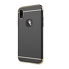 Назначение iPhone X Чехлы панели Защита от удара Покрытие Задняя крышка Кейс для Сплошной цвет Твердый пластик для Apple iPhone X