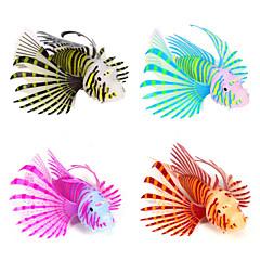 halpa Akvaariokoristeet-Akvaario Sisustus Keinotekoinen kala Silikoni