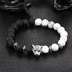 preiswerte Armbänder-Onyx Strang-Armbänder / Armband - Natur Armbänder Schwarz Für Party / Geschenk