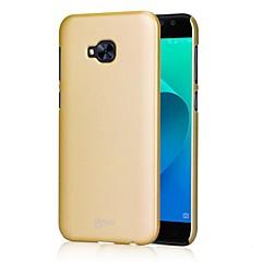 お買い得  その他のケース-ケース 用途 Asus 超薄型 バックカバー 純色 ハード PC のために Asus Zenfone 4 Selfie ZD552KL Asus Zenfone 4 MAX ZC554KL