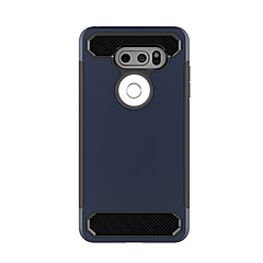 Недорогие Чехлы и кейсы для LG-Кейс для Назначение LG Защита от удара Кейс на заднюю панель Сплошной цвет Твердый Силикон для LG V30 LG StyLo 3 LG K10 (2017)