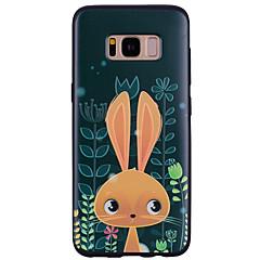 halpa Galaxy S6 kotelot / kuoret-Etui Käyttötarkoitus Samsung Galaxy Kuvio Takakuori Piirretty Eläin Pehmeä Silikoni varten S8 S8 Plus S7 edge S7 S6 edge S6