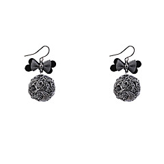 Women's Drop Earrings Fashion Vintage Copper Bowknot Jewelry For Casual