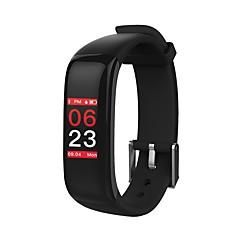 p1 plusz színes oled képernyő férfi női okos karkötő vérnyomás / szívritmus monitor pedometers ios android