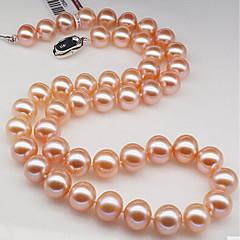 abordables Collares de perlas-Mujer Perla Gargantillas - Perla Blanco, Rosa Gargantillas Para Cumpleaños, Regalo, Diario