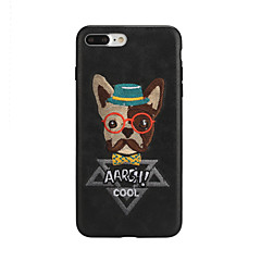 cheap iPhone Cases-Case For Apple iPhone X iPhone 7 Pattern Back Cover Dog Hard PU Leather for iPhone X iPhone 8 Plus iPhone 8 iPhone 7 Plus iPhone 7 iPhone