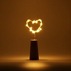 preiswerte LED Lichtstreifen-BRELONG® 0,5 m Leuchtgirlanden 5 LEDs Rot / Gelb / Rosa Wasserfest <5 V 1pc