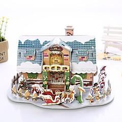 abordables Bolsas y Cajas-Puzzles 3D Juguetes Forma de Juguete Papel Piezas Navidad Día del Niño Regalo