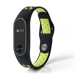 お買い得  腕時計ベルト-ゴム 時計バンド ストラップ グリーン 25センチメートル/ 9.84インチ 1cm / 0.39 Inch
