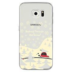 halpa Galaxy S6 Edge kotelot / kuoret-Etui Käyttötarkoitus Samsung Galaxy S8 Plus S8 Kuvio Takakuori Joulu Pehmeä TPU varten S8 Plus S8 S7 edge S7 S6 edge plus S6 edge S6
