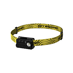 Nitecore Headlamps Headlight LED 360/220/40/1 lm 4 Mode XP-G2 with Battery and USB Cable Water Resistant / Water Proof Wearproof Light
