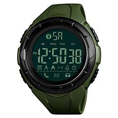 tanie Zegarki elektroniczne-Męskie Sportowy Zegarek na nadgarstek Zegarek cyfrowy Japoński Cyfrowe Bluetooth Alarm Kalendarz Chronograf Wodoszczelny Pilot zdalnego