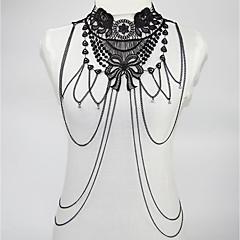 Χαμηλού Κόστους -Γυναικεία Κοσμήματα Σώματος Body Αλυσίδα / κοιλιά Αλυσίδα Σέξι Rock Κοσμήματα με στυλ Flower & Bud Κράμα Geometric Shape Κοσμήματα Για