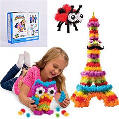 cheap -NEW Thorn Ball Clusters Good Package New Building Toy 370 Pieces DIY Kids Play 36 Accessories Kit Children Best Gift